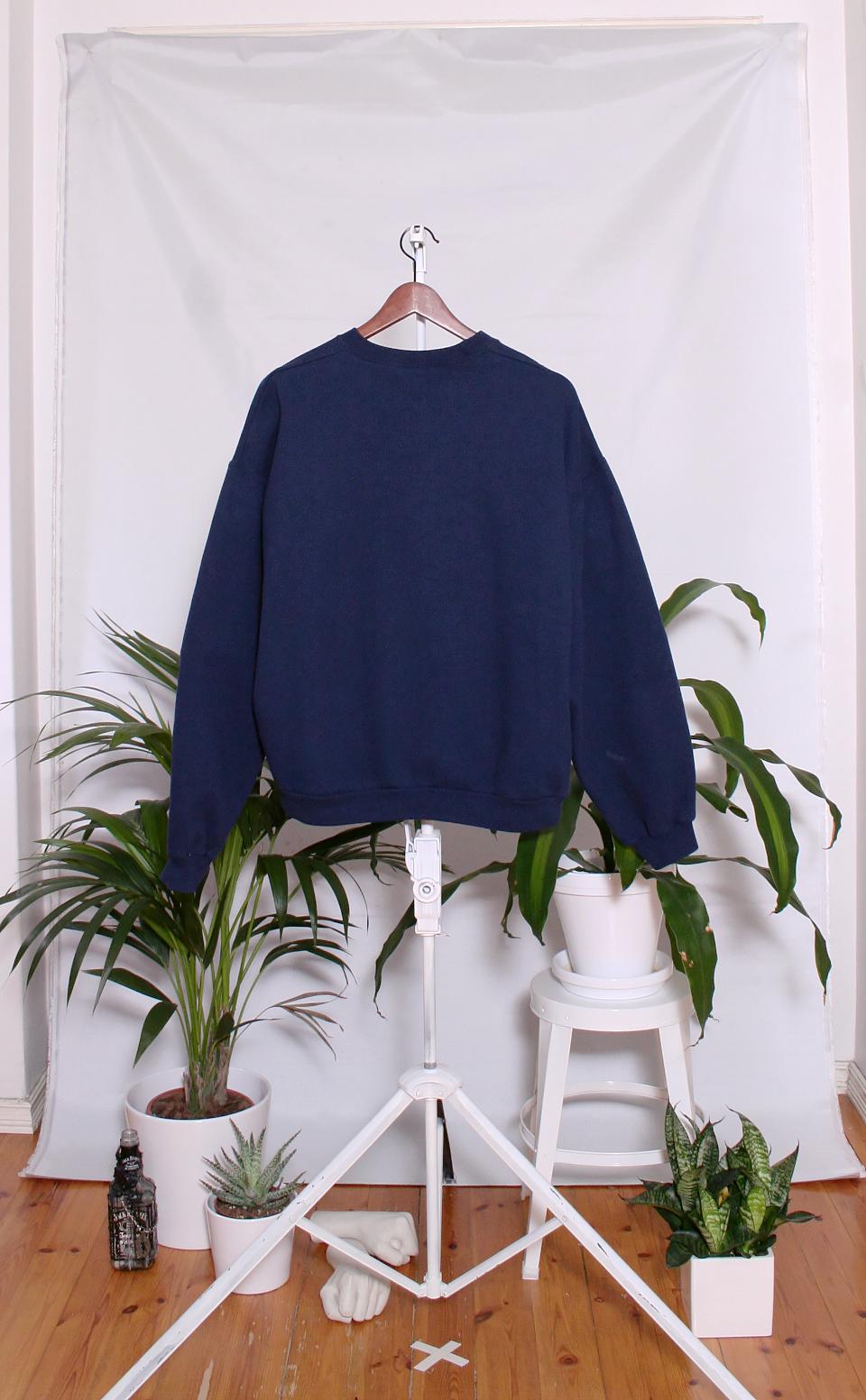 Vintage College Sweater (miesten L / naisten XXL)