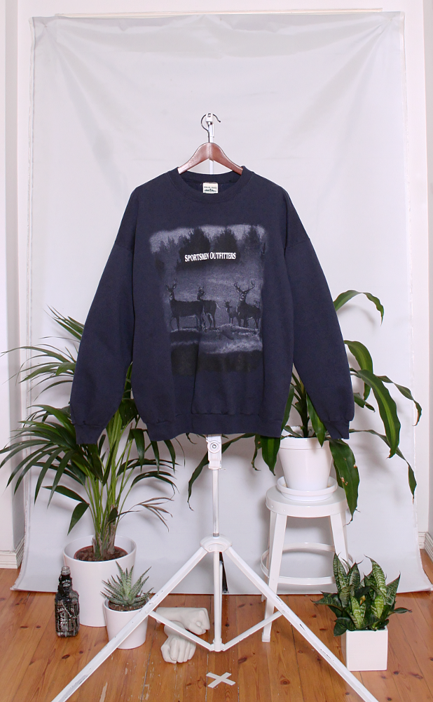 Vintage College Sweater (miesten XL) 34000052000670