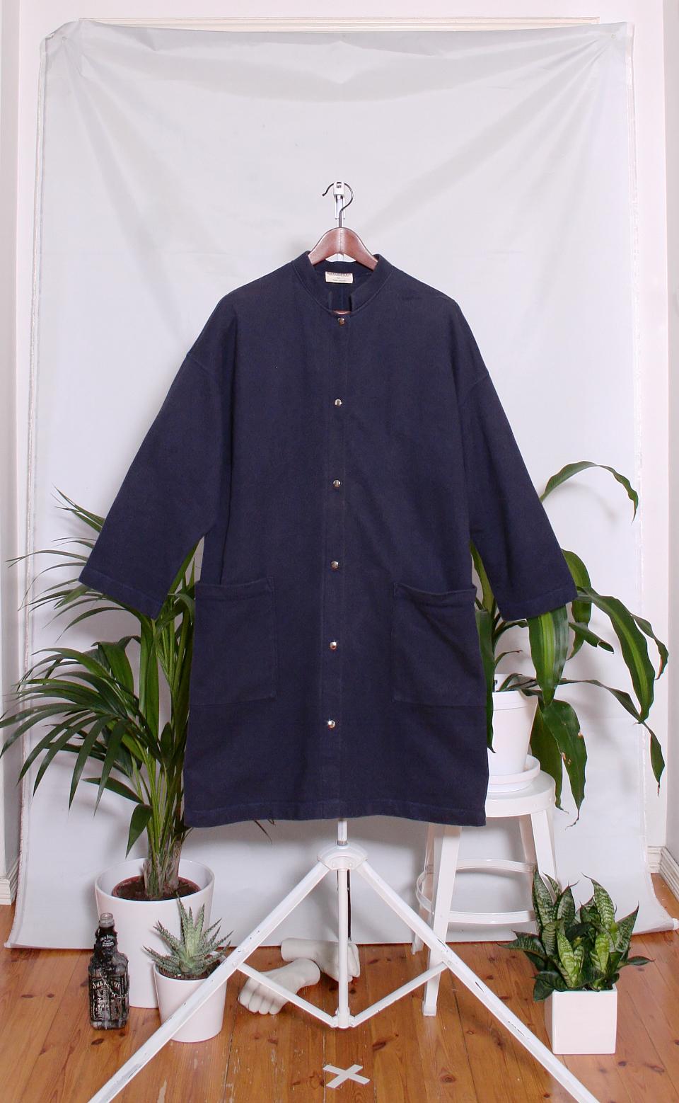 Vintage Marimekko Cotton Tunic (naisten S-M)