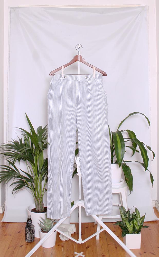 Vintage Marimekko Cotton Pants (naisten M / miesten XS-S) 60000668000714