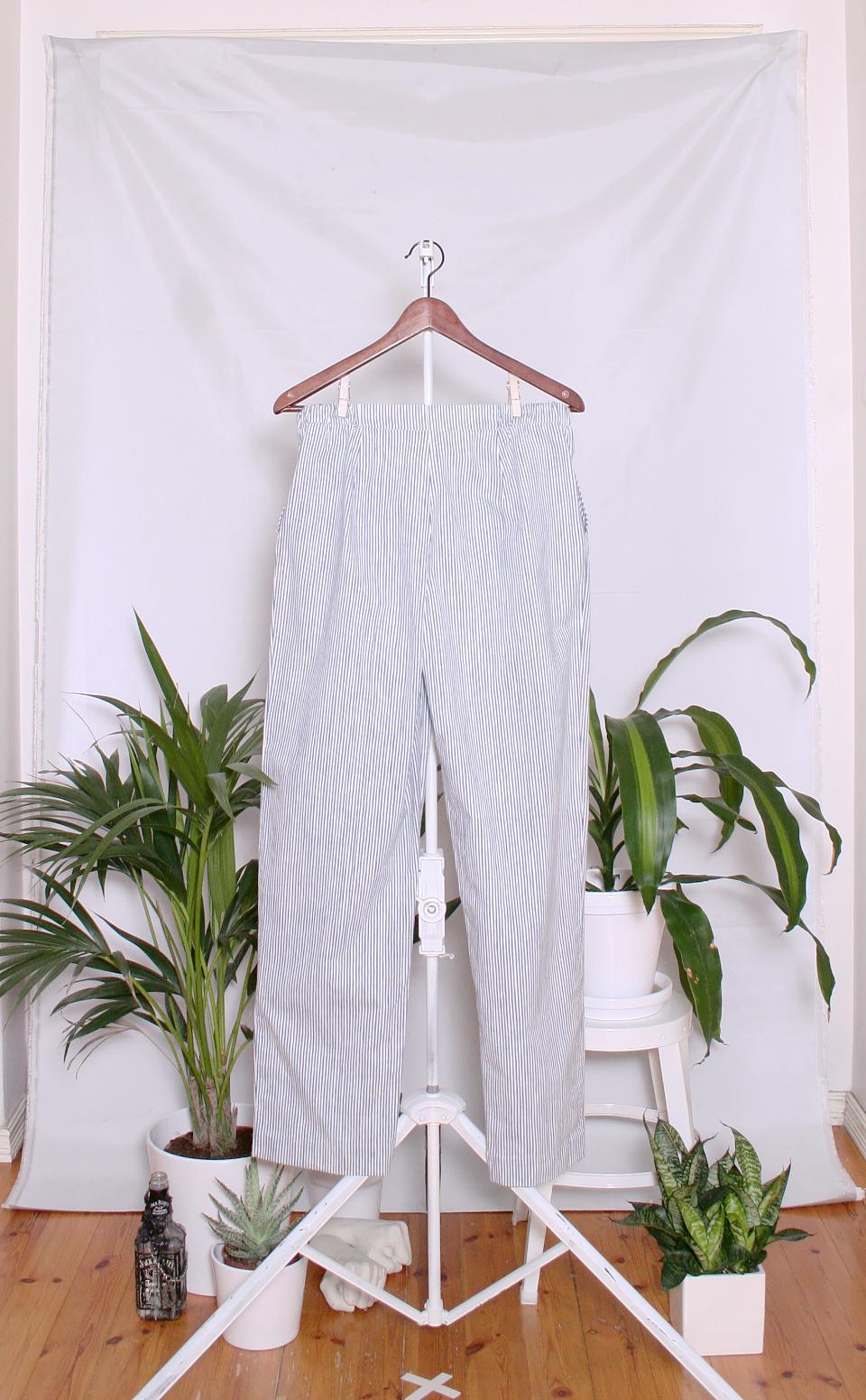 Vintage Marimekko Cotton Pants (naisten M / miesten XS-S)