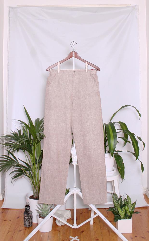 Vintage Marimekko Cotton Pants (naisten 40/M / miesten XS) 60000668000718