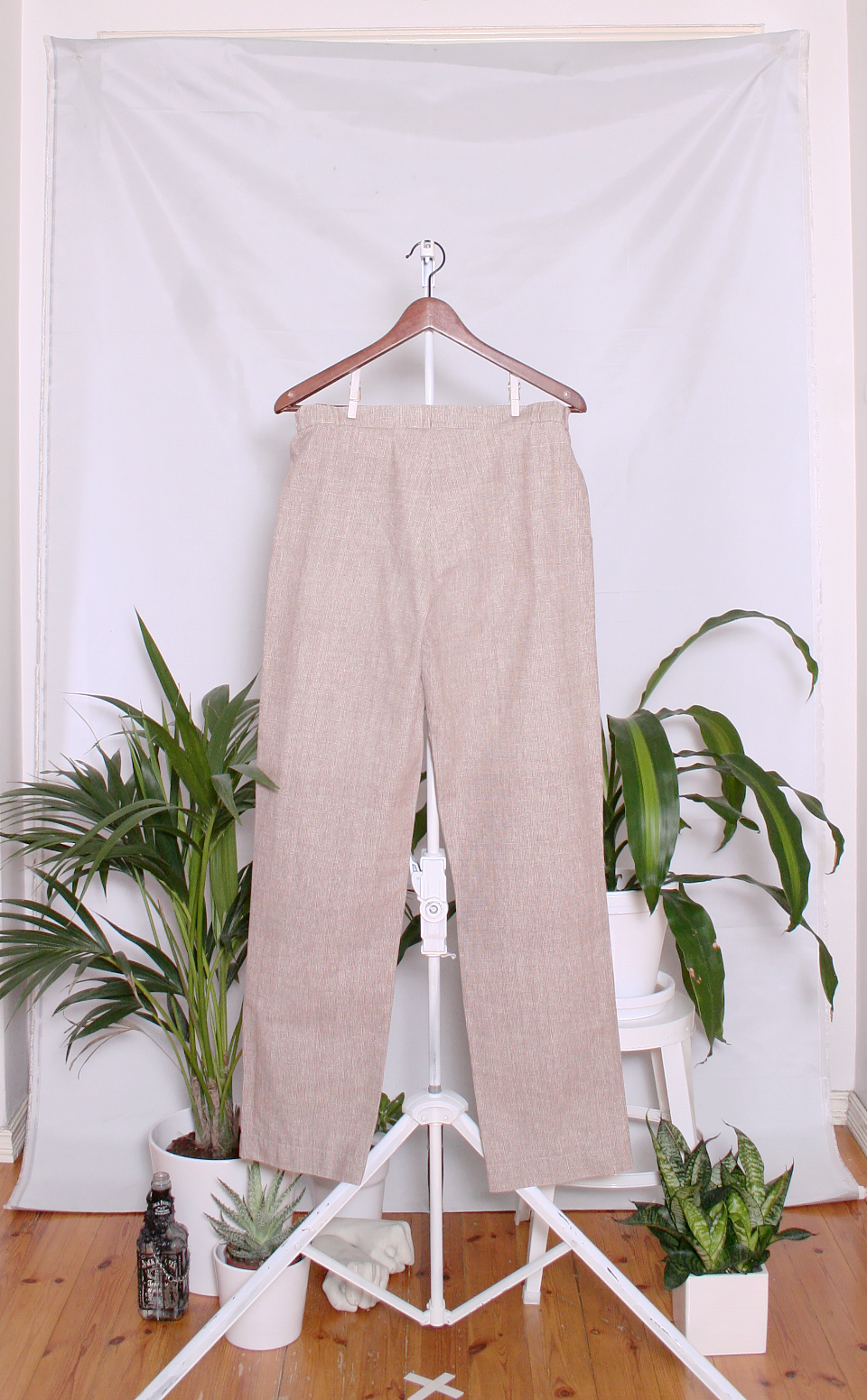 Vintage Marimekko Cotton Pants (naisten 40/M / miesten XS)