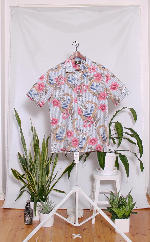 Vintage Hawaiian Shirt (miesten L / naisten XL) 34000083000762