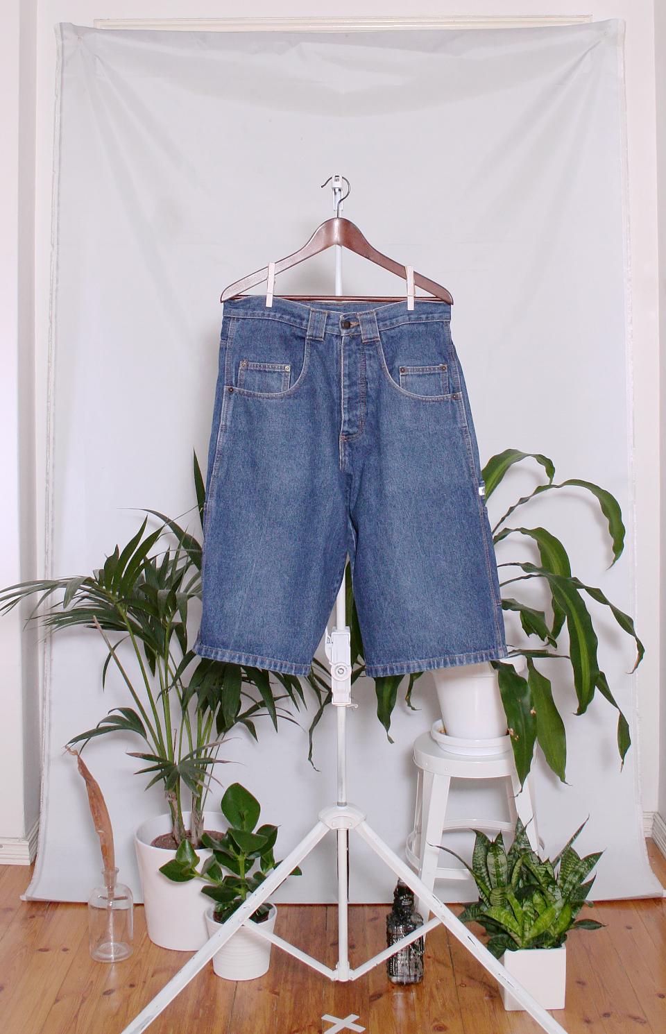 Vintage 90's MicMac Denim Shorts (miesten M / naisten L)