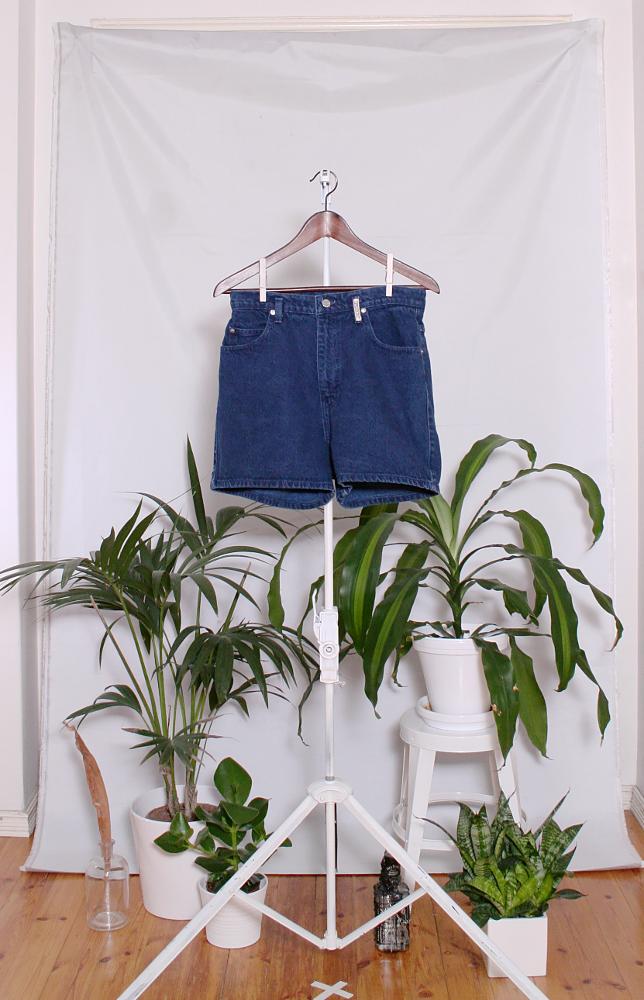 Vintage Denim Shorts (naisten M-L / miesten S) 34000076000785