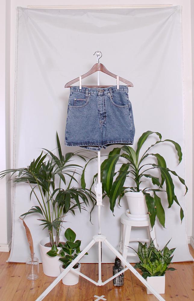 Vintage Denim Shorts (naisten M / miesten S) 34000076000786
