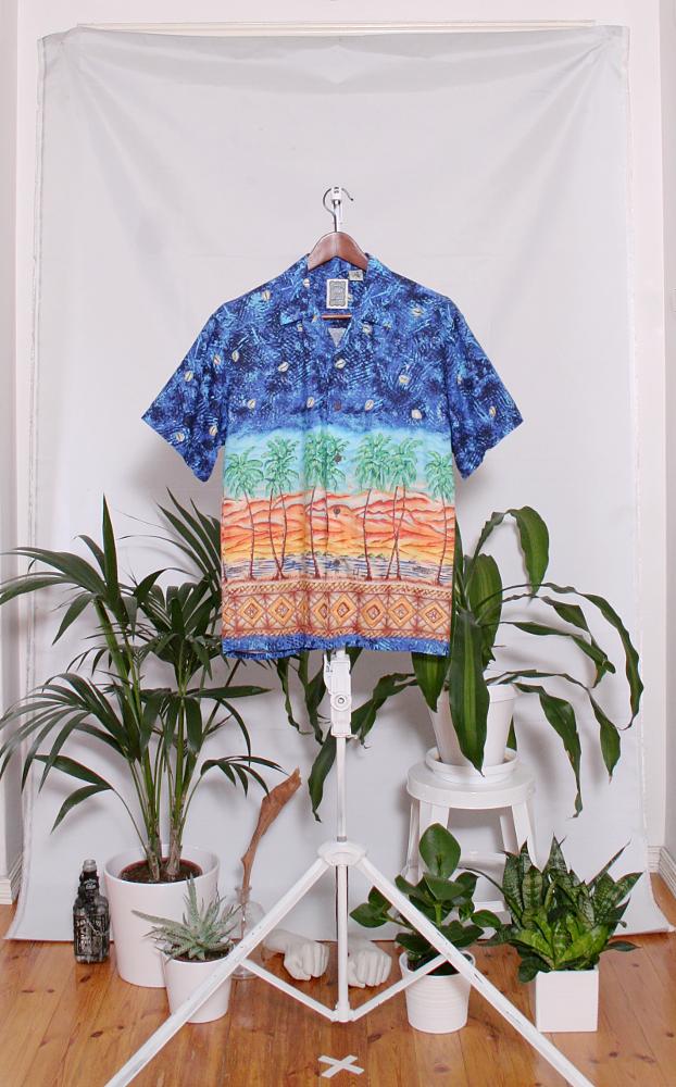Vintage Hawaiian Shirt (miesten S / naisten M) 34000090000793