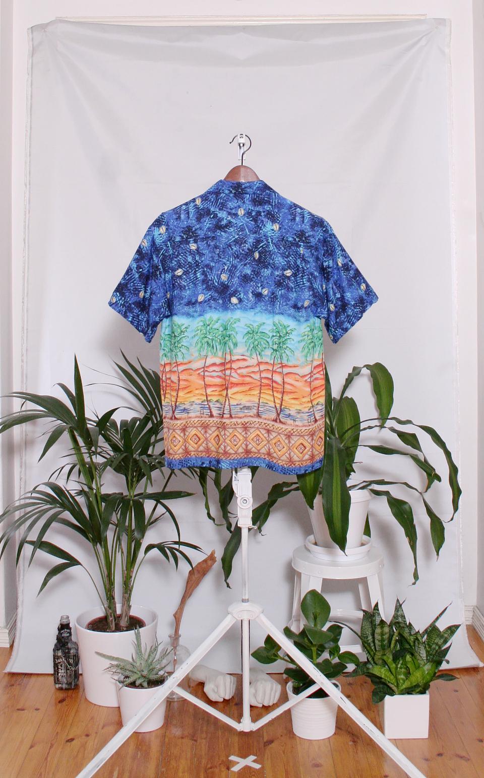 Vintage Hawaiian Shirt (miesten S / naisten M)