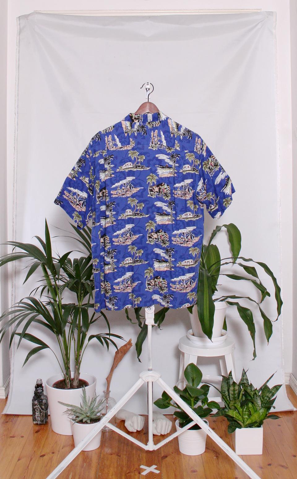 Vintage Hawaiian Shirt (miesten L / naisten XL)