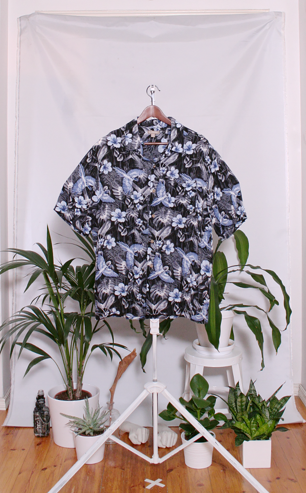 Vintage Hawaiian Shirt (miesten L / naisten XL) 34000106000799