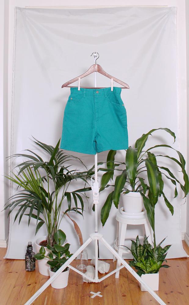 Vintage Denim Shorts (naisten S / miesten XXS) 34000076000806
