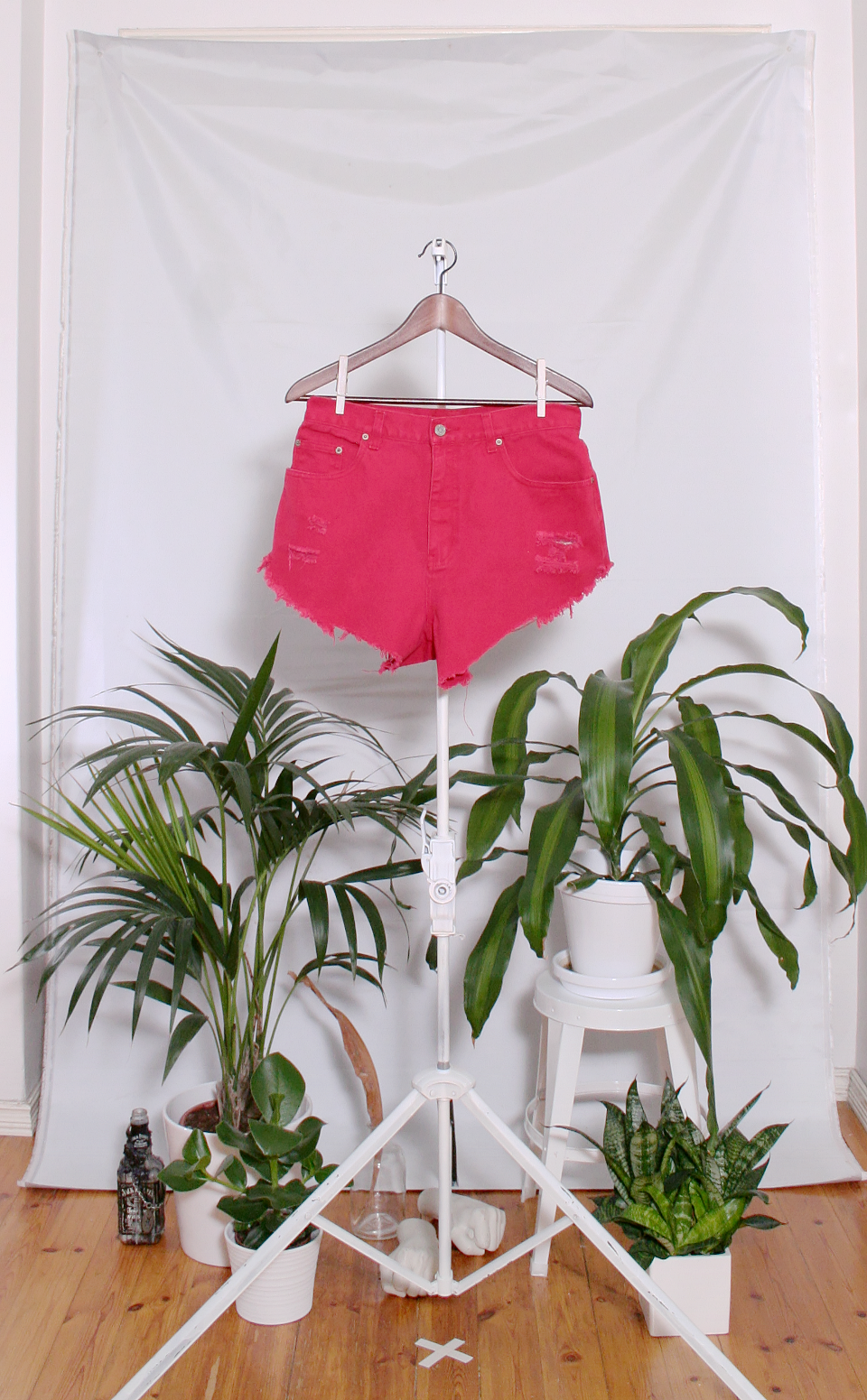 Vintage Denim Shorts (naisten M-L / miesten S)