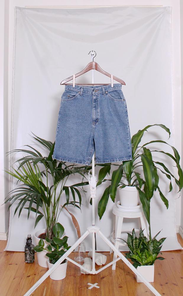 Vintage Denim Shorts (naisten M / miesten S) 34000076000810