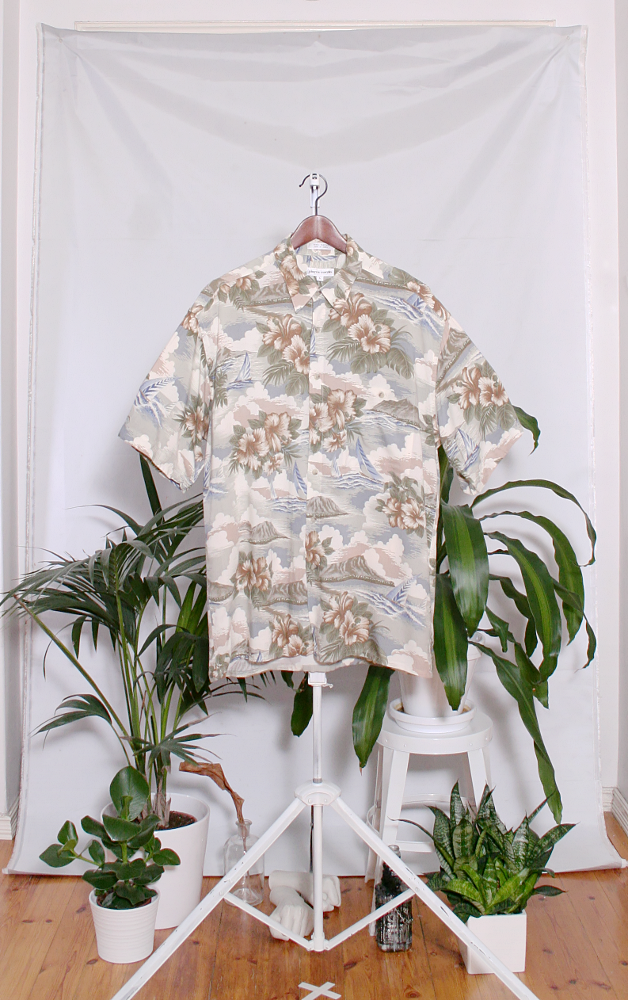 Vintage Hawaiian Shirt (miesten L / naisten XL) 34000090000814