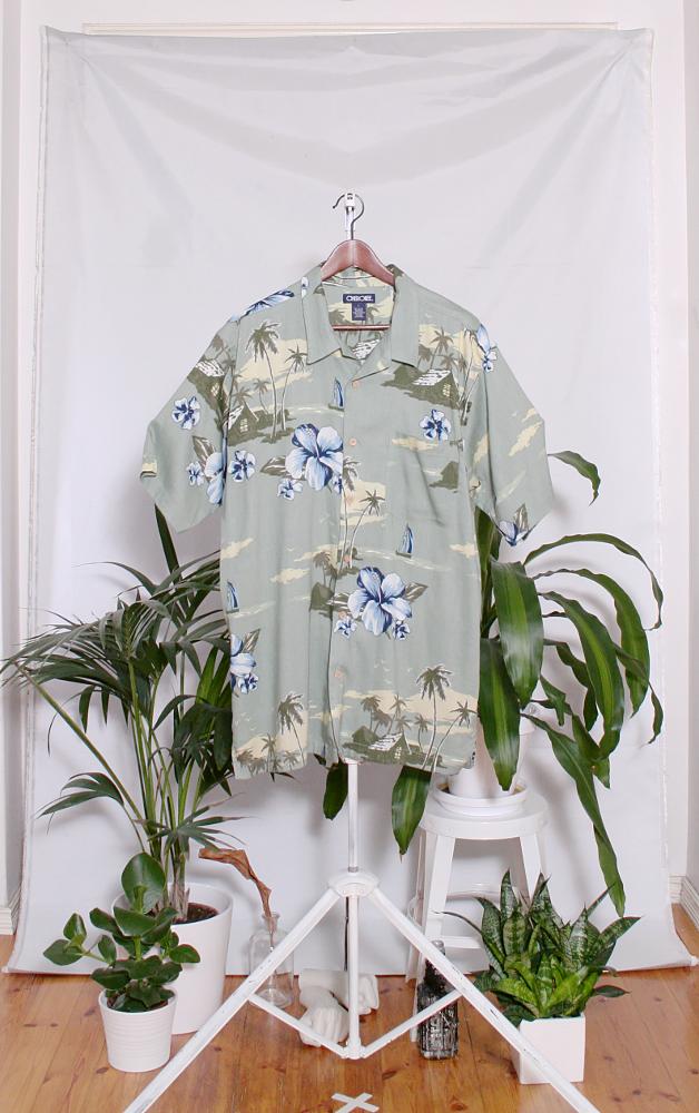 Vintage Hawaiian Shirt (miesten L / naisten XL) 34000106000818