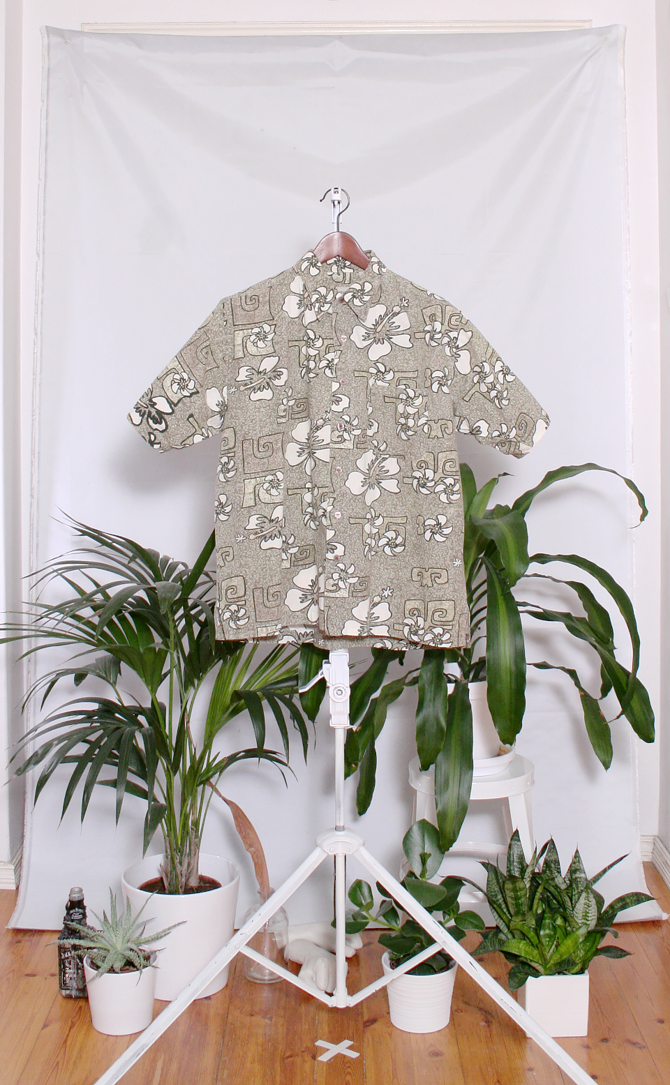 Vintage Hawaiian Shirt (miesten S / naisten L)