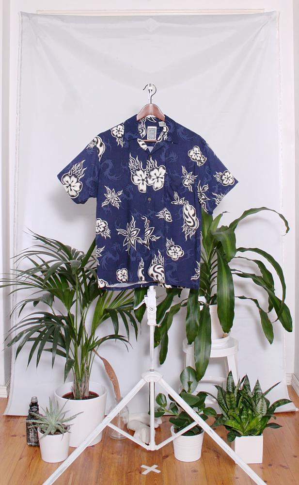 Vintage Hawaiian Shirt (miesten M / naisten L) 34000106000833