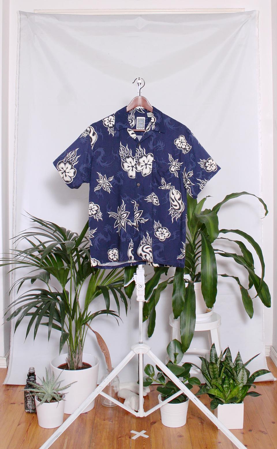 Vintage Hawaiian Shirt (miesten M / naisten L)