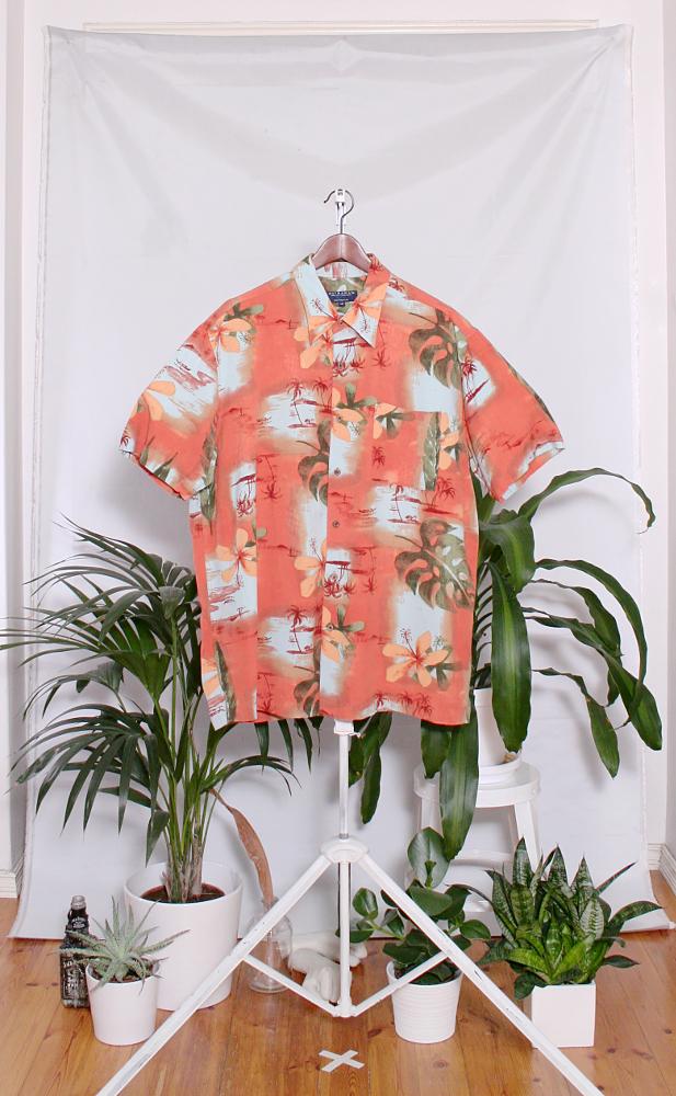 Vintage Hawaiian Shirt (miesten L / naisten XXL) 34000106000829
