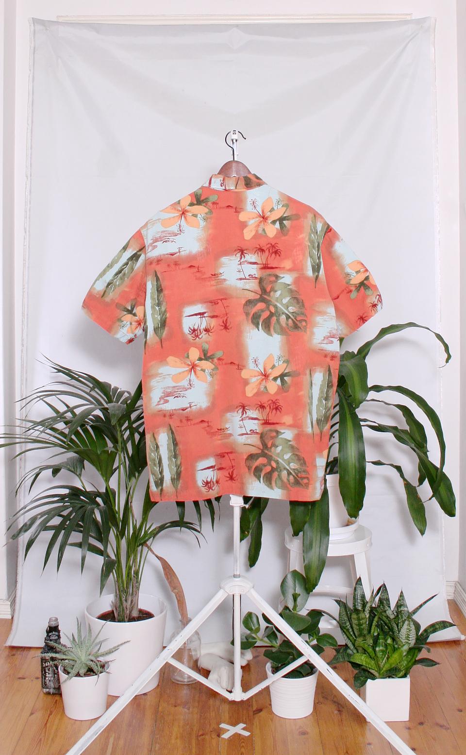 Vintage Hawaiian Shirt (miesten L / naisten XXL)