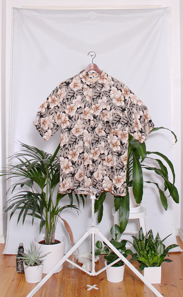 Vintage Hawaiian Shirt (miesten L / naisten XL) 34000106000828