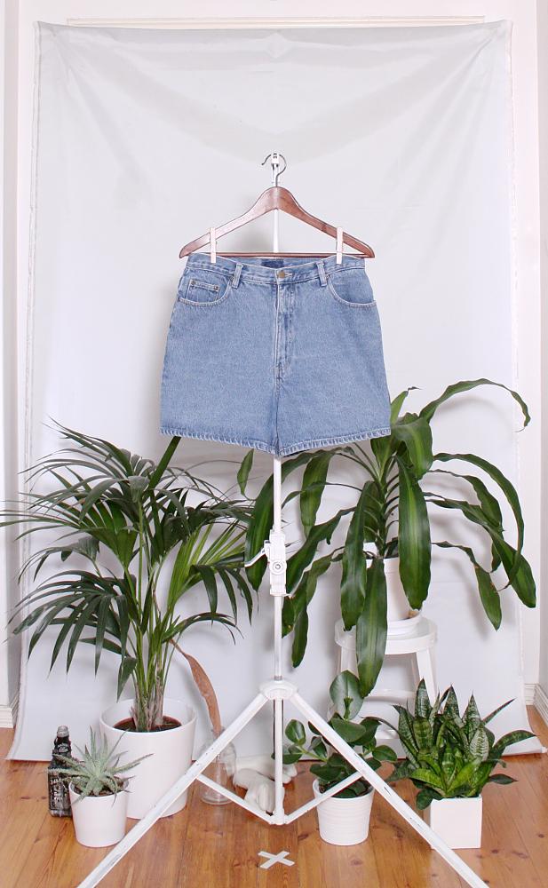 Vintage Denim Shorts (naisten L / miesten S) 34000076000838