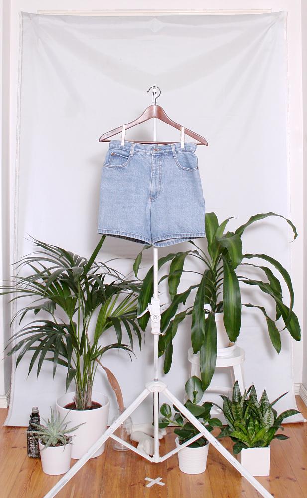 Vintage Denim Shorts (naisten S / miesten XXS) 34000076000844
