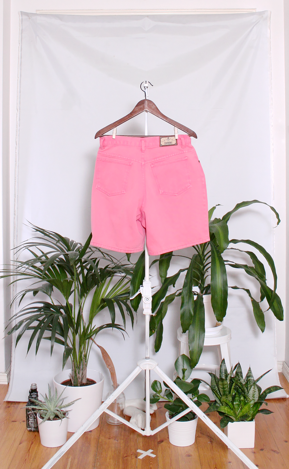 Vintage Denim Shorts (naisten M / miesten S)