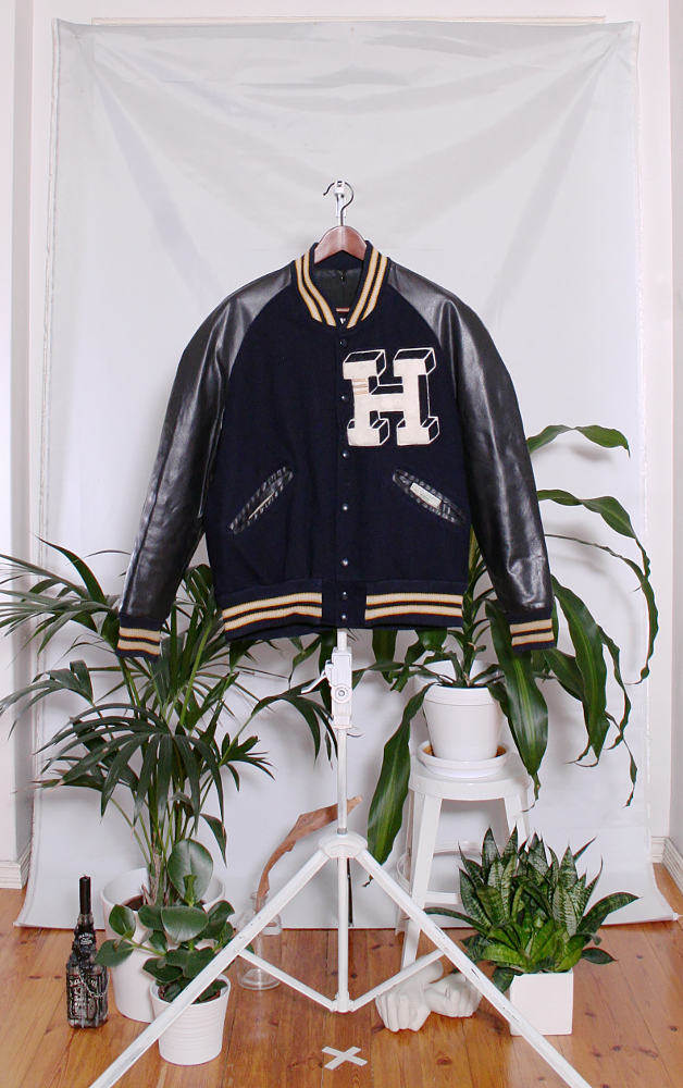 Vintage Varsity Jacket (miesten M / naisten XL) 33000213000039