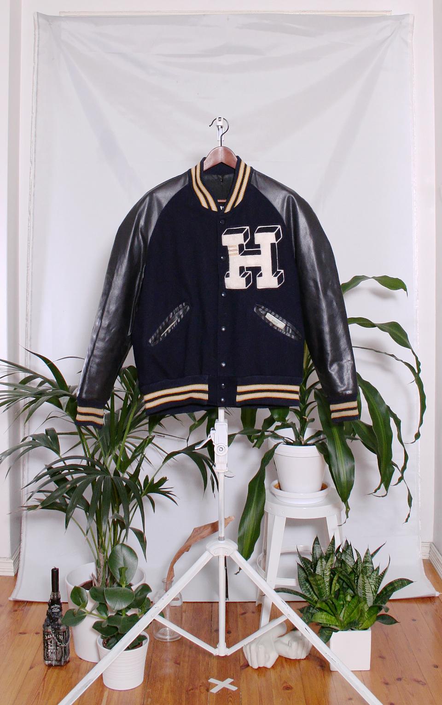 Vintage Varsity Jacket (miesten M / naisten XL)
