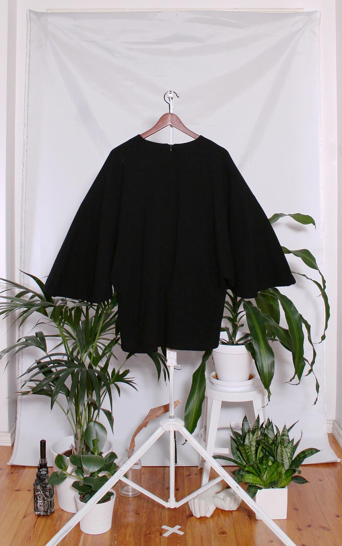 Vintage Vuokko Wool Tunic (naisten S-L / miesten XS-M)