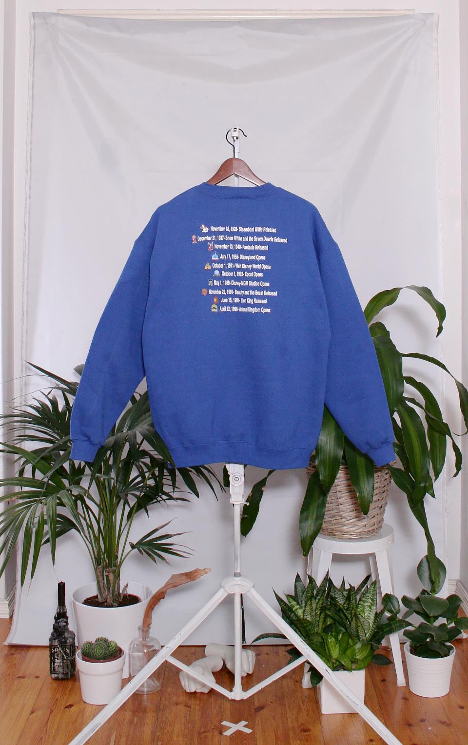 Vintage Disney Sweater (miesten L / naisten XL)