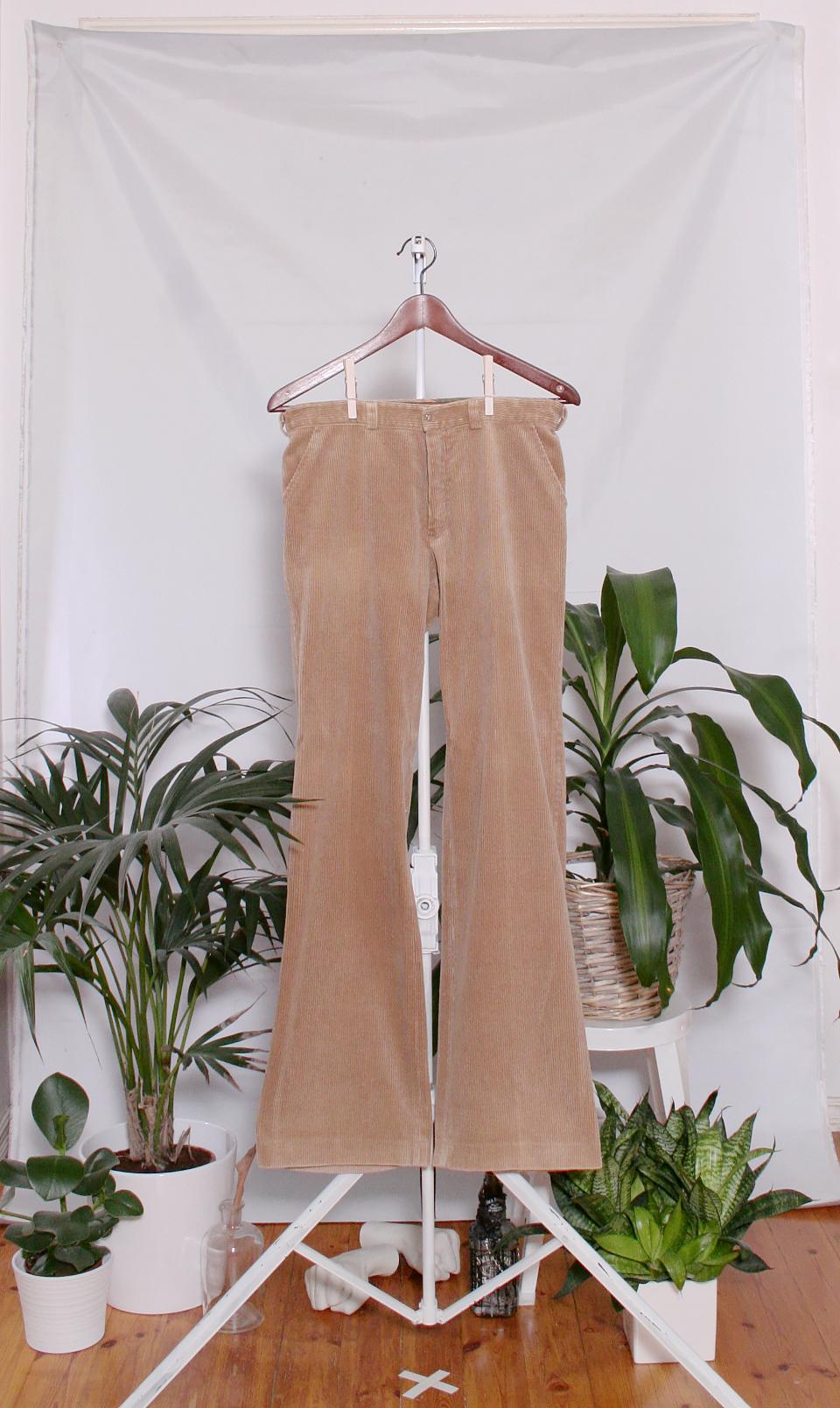 Vintage 70's Corduroy Pants (naisten M / miesten XS)