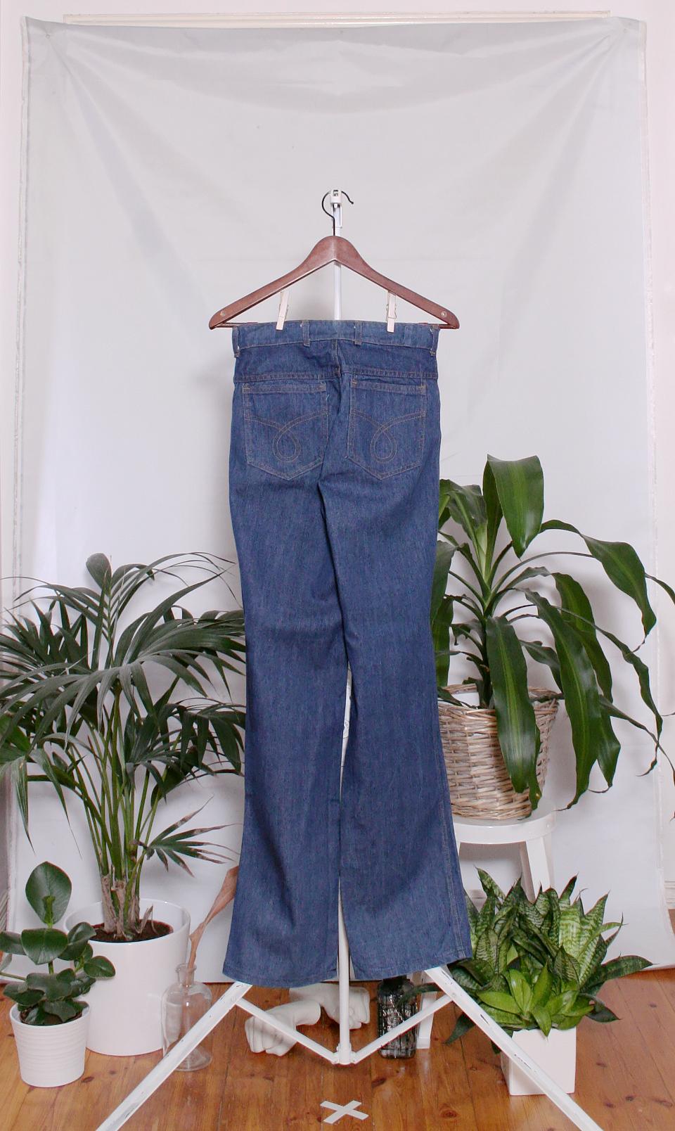 Vintage 70's Jeans (naisten M / miesten XS)