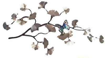 Bovano - Gingko Leaves and Butterfly