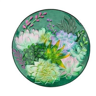 Birdbath Bowl - Succulent