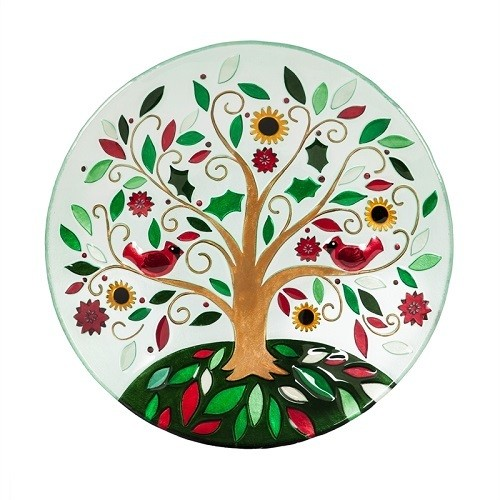 Birdbath Bowl - Tree of Life