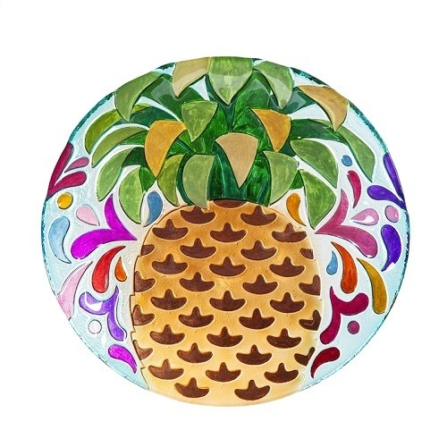 Birdbath Bowl - Fun Pineapple