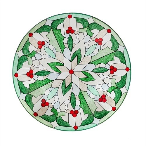 Birdbath Bowl - Tiffany Glass