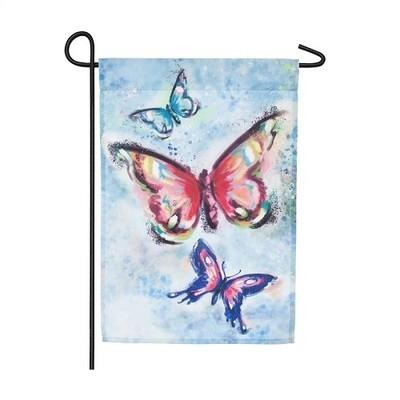 Garden Flag - Butterfly Kaleidoscope