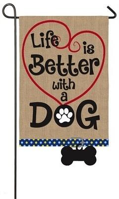 Garden Flag - Life is Better