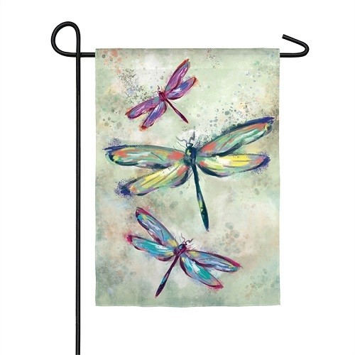 Garden Flag - Dragonfly Beauty