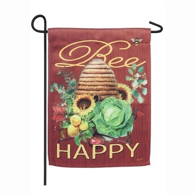 Garden Flag - Bee Happy