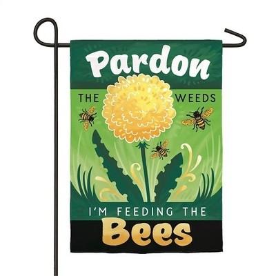 Garden Flag - Pardon the Weeds