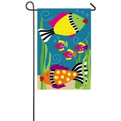 Garden Flag - Funky Fish