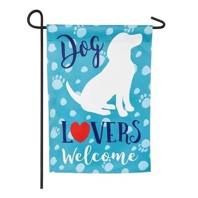 Garden Flag - Dog Lovers
