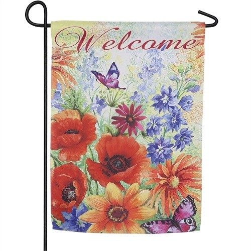 Garden Flag - Bright Wildflowers