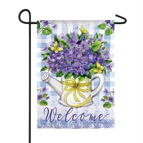 Garden Flag - Violet Bouquet