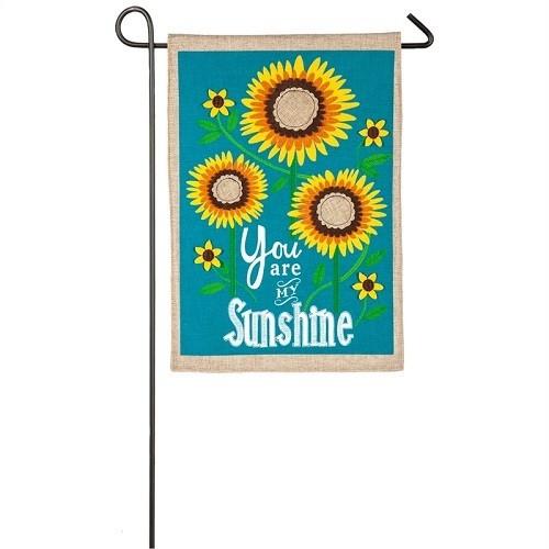 Garden Flag - Sunflower Welcome